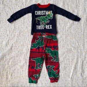4 for $20 📦 Children's Place Dino Christmas PJs